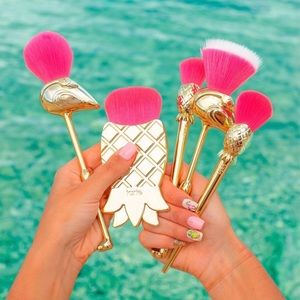 Tarte Let's Flamingle 5-Piece Brush Set